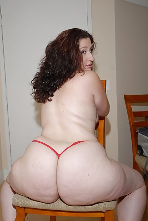 Big white mature butts